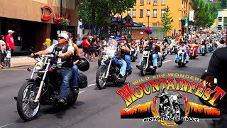 MOUNTAINFEST 2018 MOTORCYCLE PARADE!