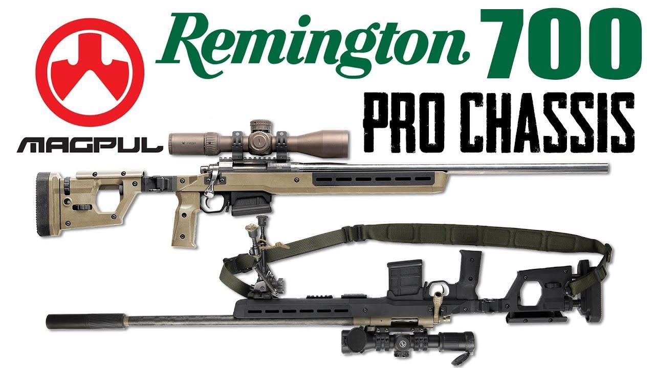 Magpul Pro700 Rifle Chassis for Remington 700 Rifles at SHOT Show 2018