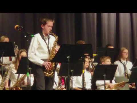 Indianola Middle School Jazz Band Concert - After Sunset