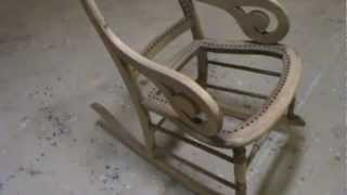 Antique Furniture Repair Llc Rocking Chair Refinishing 1 Of 2
