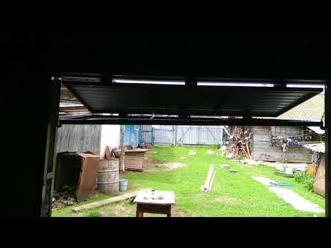 видео: Подъемно-складные ворота
