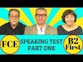 FCE B2 First Speaking Test Part 1 Practice Questions mp3
