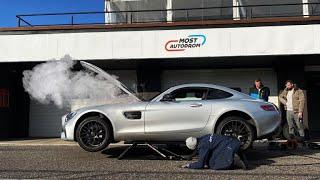 Rozbil jsem AMG GT na okruhu? w/@GT Sports Technology