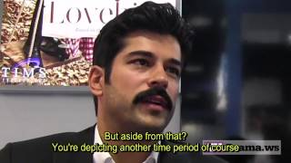 Calikusu (Lovebirds) promo interview at Cannes (English subtitles)