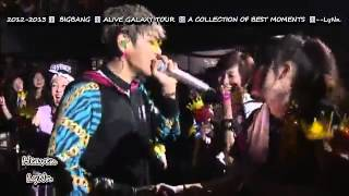 2012-2013 BIGBANG ALIVE GALAXY TOUR A COLLECTION OF BEST MOMENTS ~ Heaven