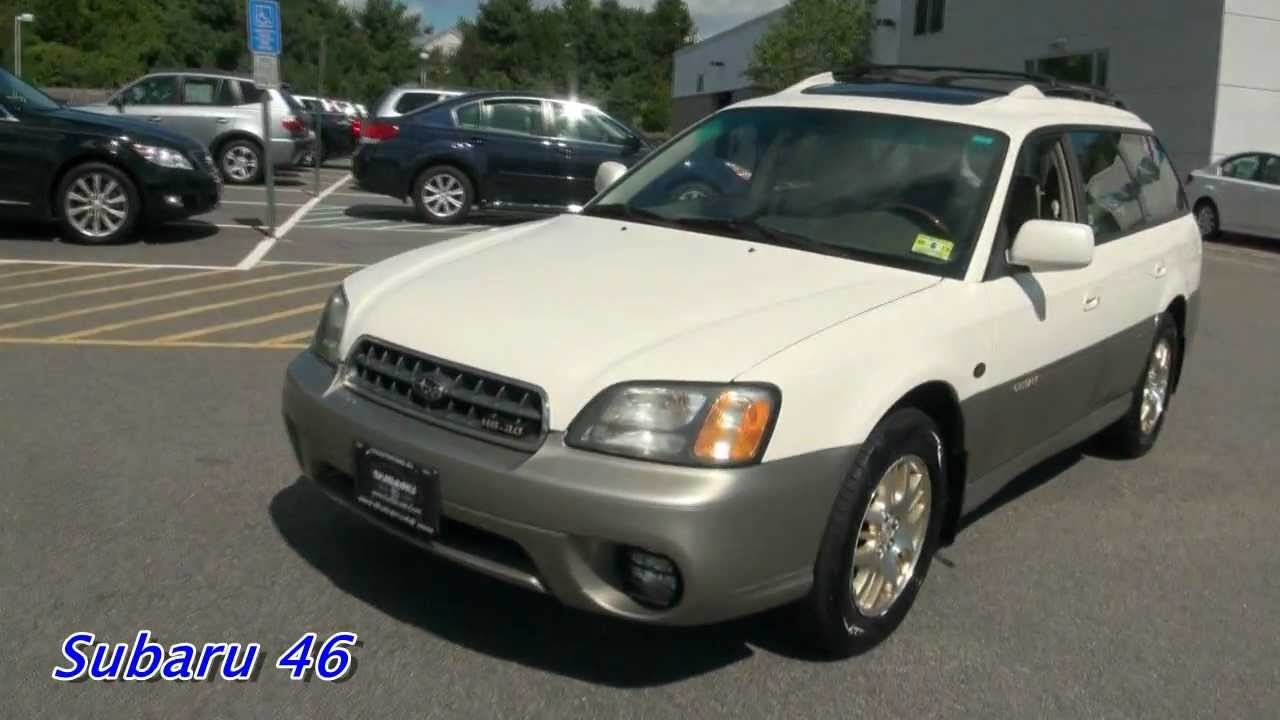 2003 subaru legacy outback h6 3 0 l l bean wagon youtube. Black Bedroom Furniture Sets. Home Design Ideas