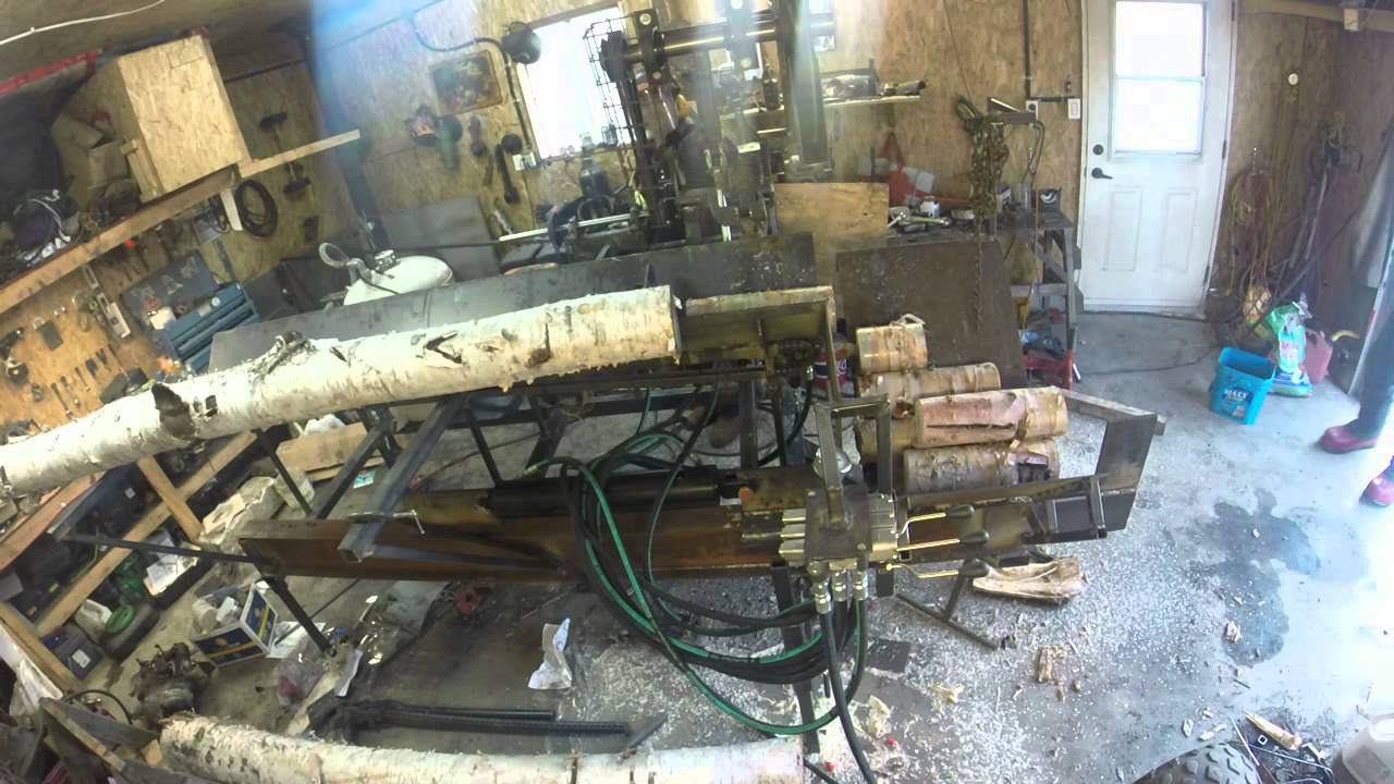 Homemade Firewood Processor 28 Inch15hp First Test Fail