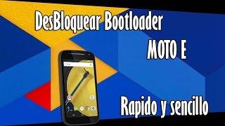 Desbloquear Bootloader MOTO E + Recovery | TuTorial 2017 | Español and EnglishHD