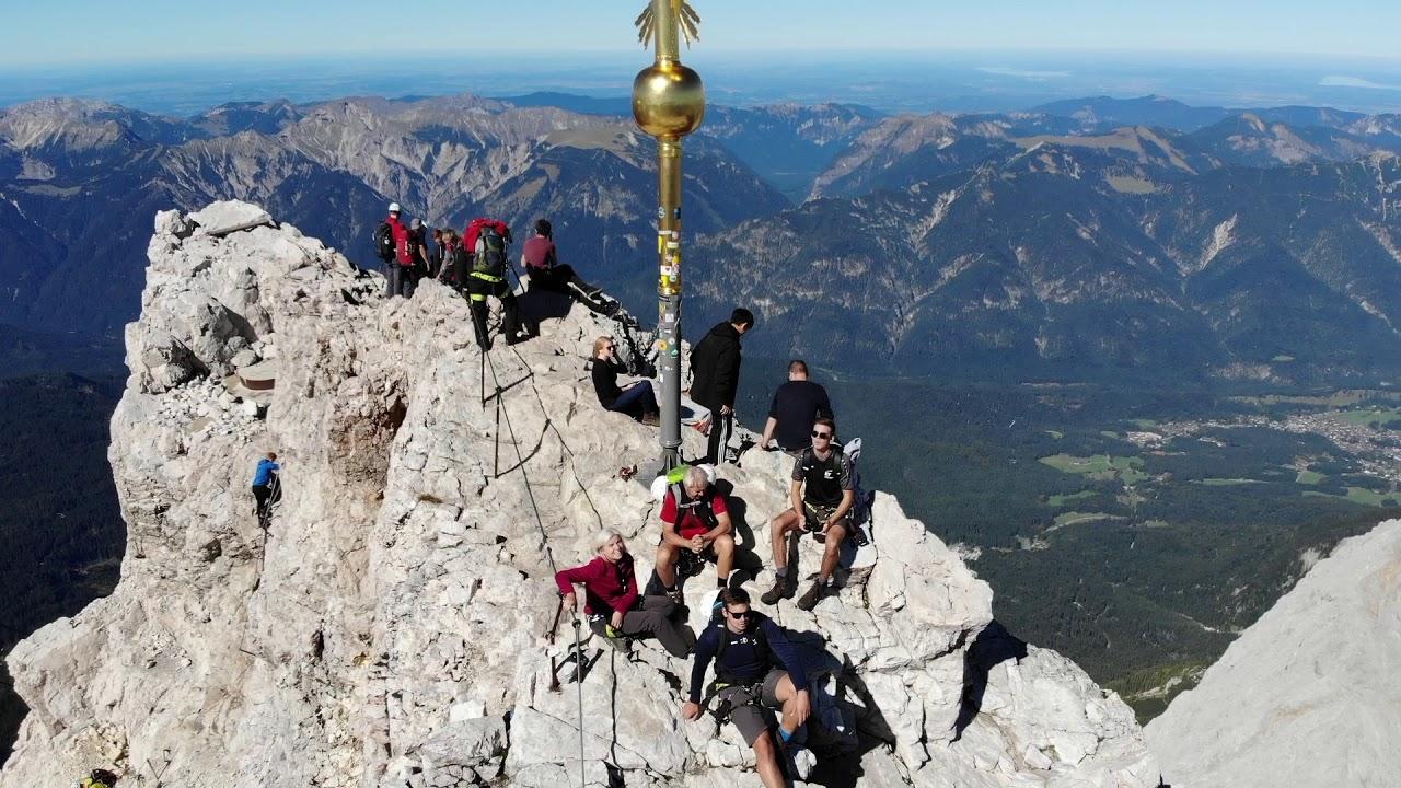 Klettersteig Germany : Zugspitze über den stöpselzieher klettersteig a daytrip to the top