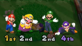 Mario Party 9 Garden Battle - Mario vs Rival Master Difficulty| Cartoons Mee