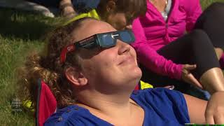 Hundreds gathered at Saskatchewan Science Centre to view eclipse