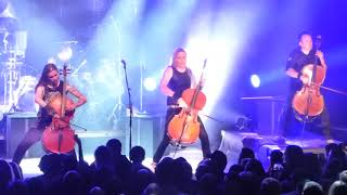 "Apocalyptica ""Battery"" (Metallica cover) Commodore, Van. BC. Sept23/17"