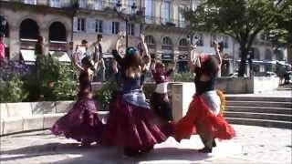 ATS Flashmob worldwide 2015 in Bordeaux with Alienor Tribal