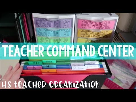 My Teacher Command Center | Teacher Organization