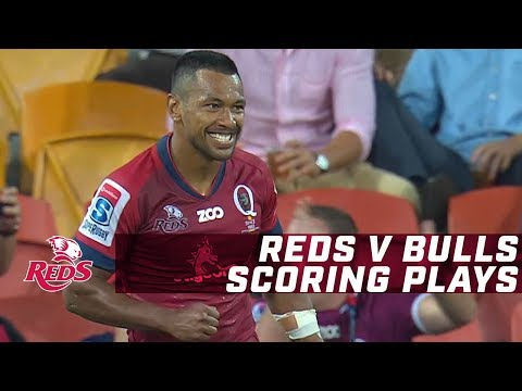 St.George Queensland Reds v Bulls - Scoring Plays
