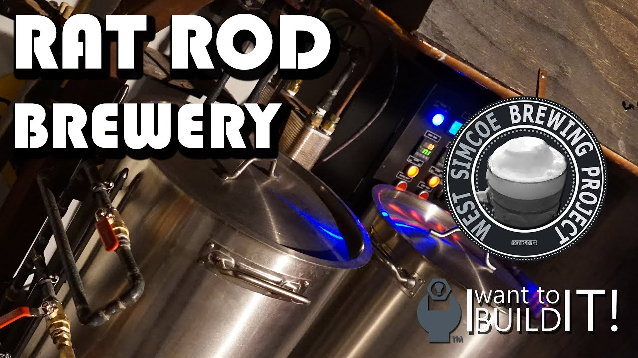 The Art of Building a Brewery – 2 – The Rat Rod Brew Bench