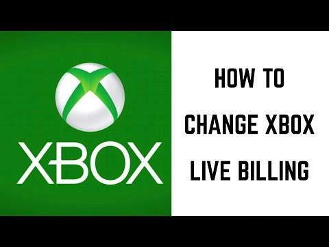 How to Change Xbox Live Billing Credit or Debit Card