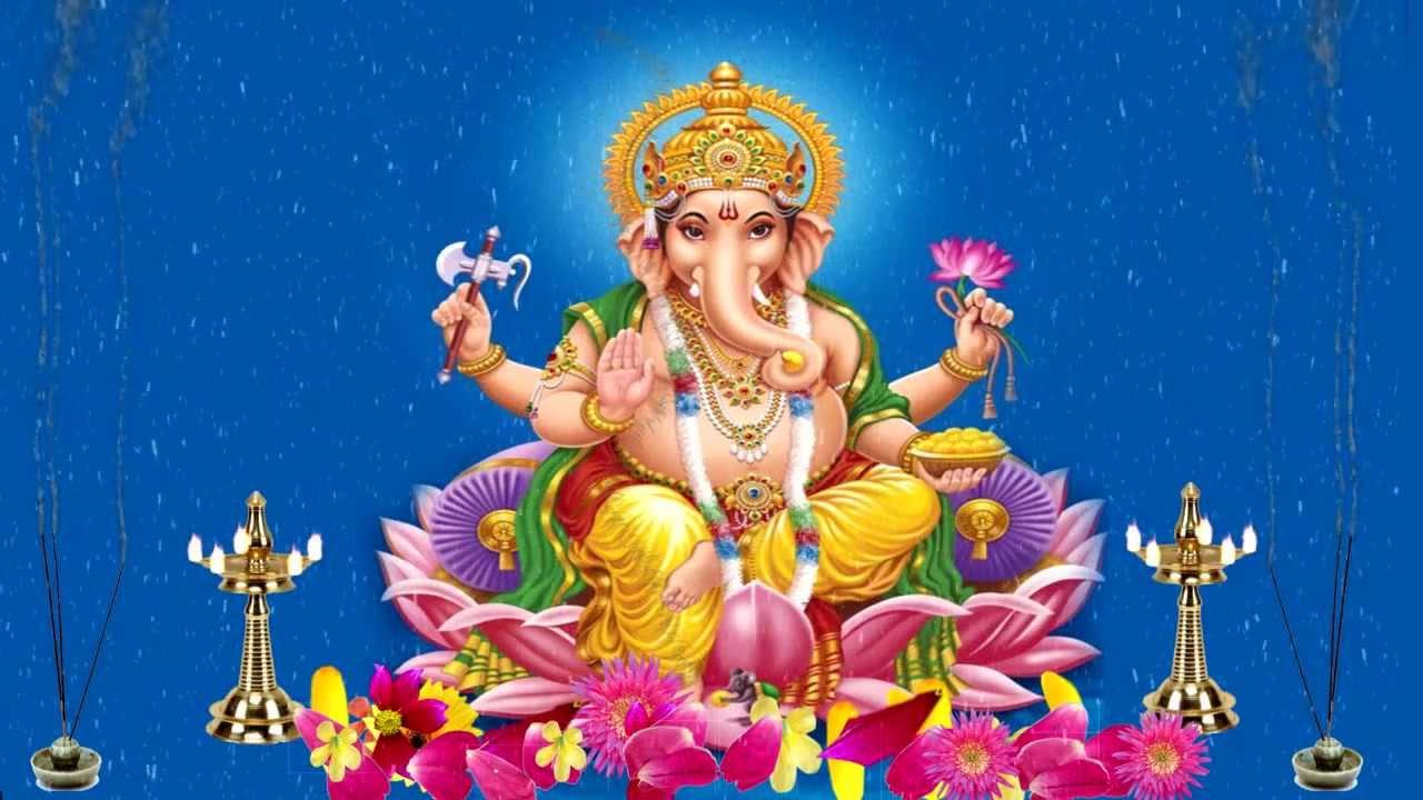 Lord Vinayagar Hd Wallpapers Ganapathy Prayer Hd From Ssn Youtube