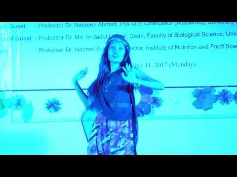 Freshers' reception-2017, INFS,DU @ Dance ( Urmi )
