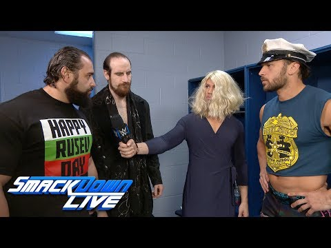 Rusev Day crash The Fashion Files with a challenge for Breezango: Exclusive, Jan 16, 2018