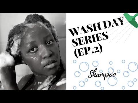 WASH DAY SERIES: How To Shampoo Your Natural Hair | Avoid Tangles and Breakage