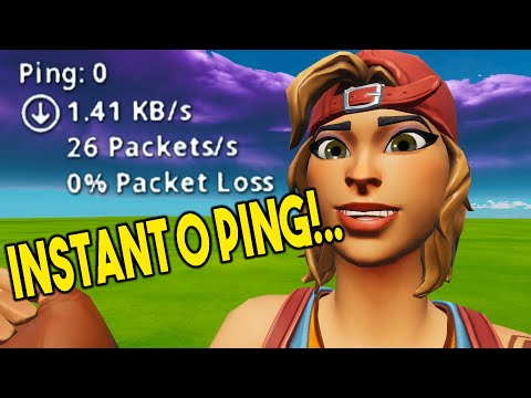 ULTIMATE 0 PING GUIDE In Fortnite! (How To Get 0 Ping & Lower Ping)