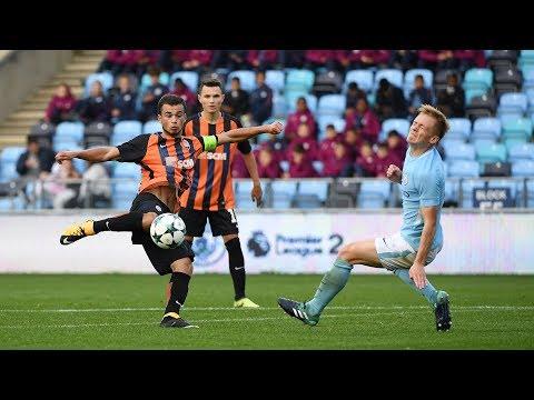 Manchester City U19 3-1 Shakhtar U19. Highlights (26/09/2017)