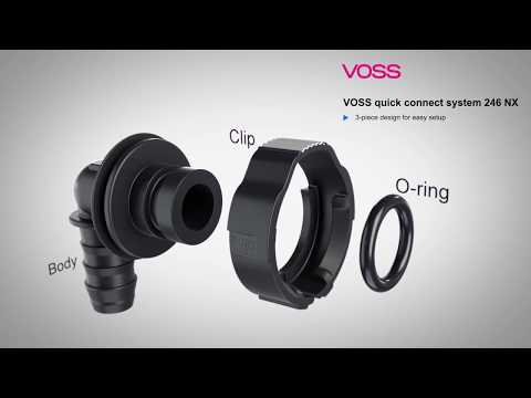 VOSS Quick Connect System 246NX