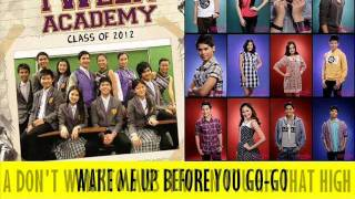 TWEEN ACADEMY CLASS OF 2012 (Wake Me Up, Before You Go Go-Westlife)