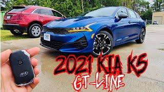 2021 KIA K5 GT-LINE: Full Revi…