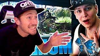 izzi reagiert auf Montanablack's Aquarium!