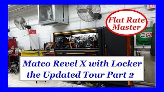 Matco Revel X with Locker the Updated Tour Part 2