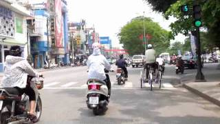 Cycle Rickshaw Ride HUE Vietnam 2012