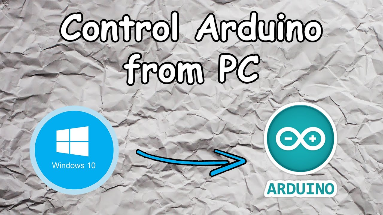 how to connect arduino to pc youtube