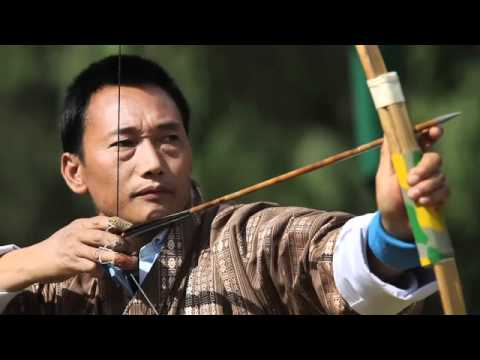 Bhutanese Archery Match