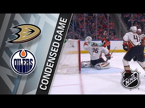 Anaheim Ducks vs Edmonton Oilers – Mar. 25, 2018 | Game Highlights | NHL 2017/18. Обзор