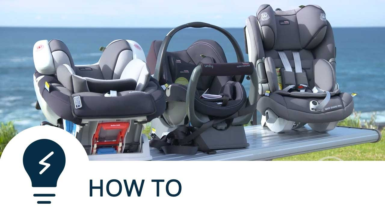 How To Correctly Install A Forward Facing Child Seat