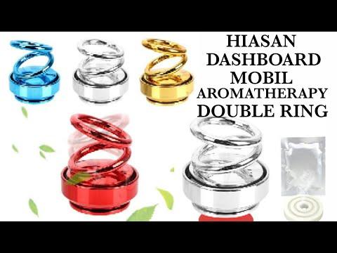 HIASAN DASHBOARD MOBIL AROMATHERAPY DOUBLE RING