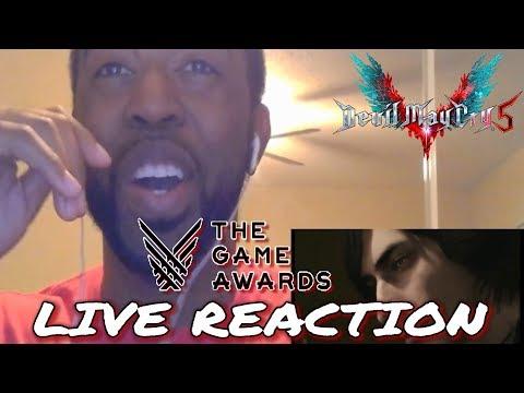 Live Reaction: DEVIL MAY CRY 5 GAME AWARDS TRAILER! - V Gameplay, Majin Devil Trigger, Demo Reveal