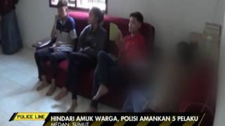 5 Wanita Pasangan Lesbian Digerebek Warga Karena Kedapatan Berciuman - Police Line 09/06