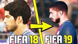 FIFA 19 - NEW PLAYER FACES CONCEPT DESIGN (Suarez, Ben Arfa & More) - FIFA 2018