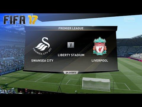 FIFA 17 - Swansea City vs. Liverpool @ Liberty Stadium