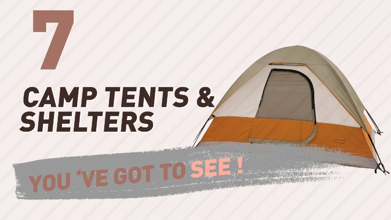 Cedar Ridge Top 10 Best Sellers // C& Tents u0026 Shelters  sc 1 st  YouTube & Cedar Ridge Top 10 Best Sellers // Camp Tents u0026 Shelters - YouTube