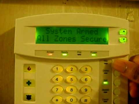 Ge Networx Nx-4v2 Home Alarm Security System Siren Test