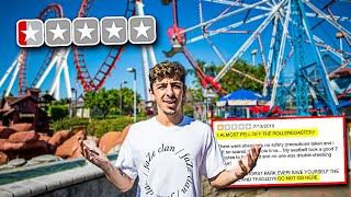 Download Going to the WORST REVIEWED Amusement Park in my City! **bad idea** Mp3 and Videos