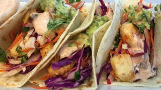 Healthy Fish Tacos Using Healthy Solutions Spice Blends