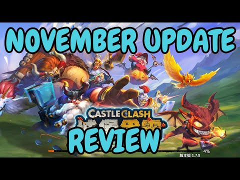 November Update Review L Castle Clash