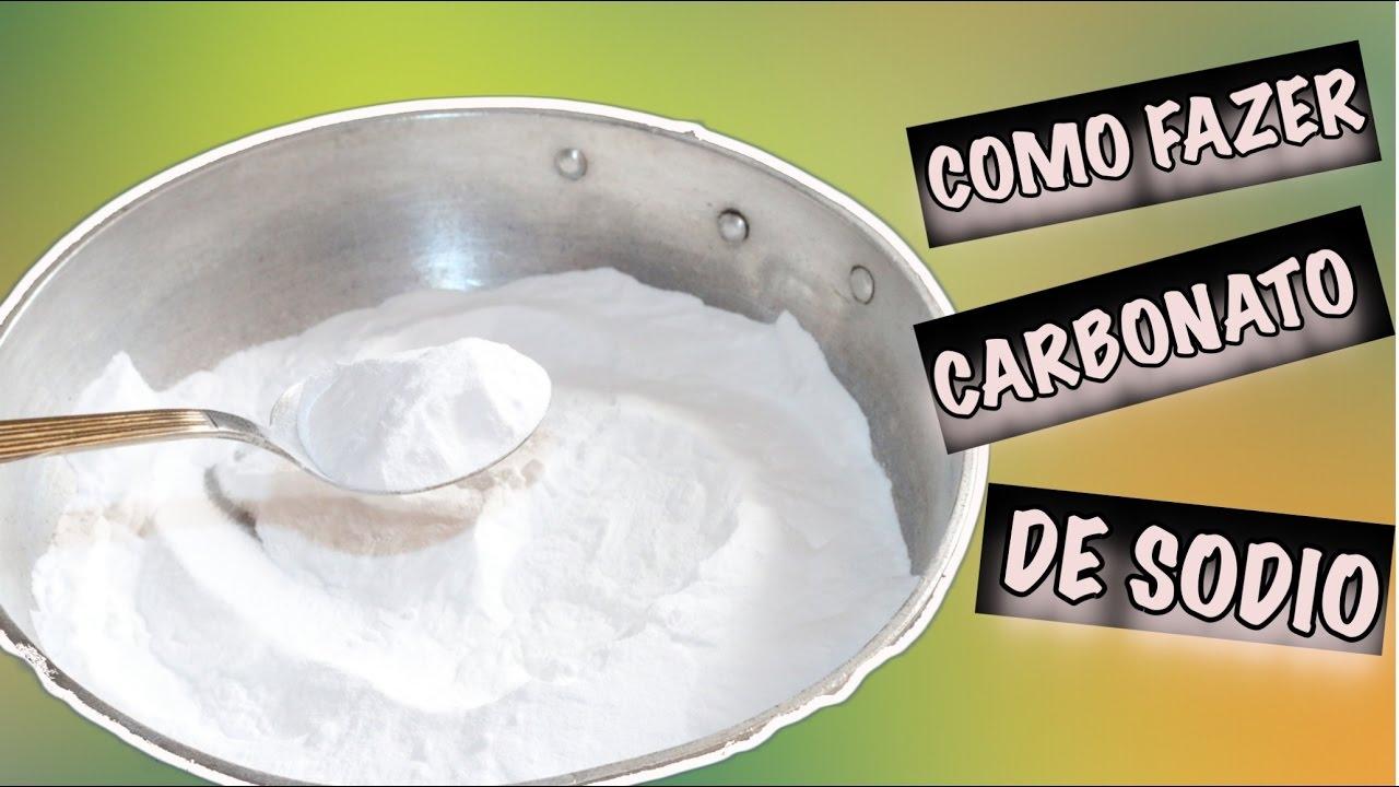 Como Fazer Carbonato De Sodio Youtube