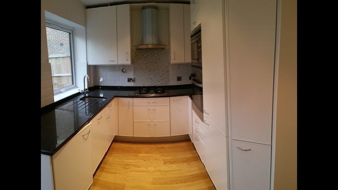 Satin 50% Sheen Level Respraying Kitchen Fronts London, Painting Kitchen