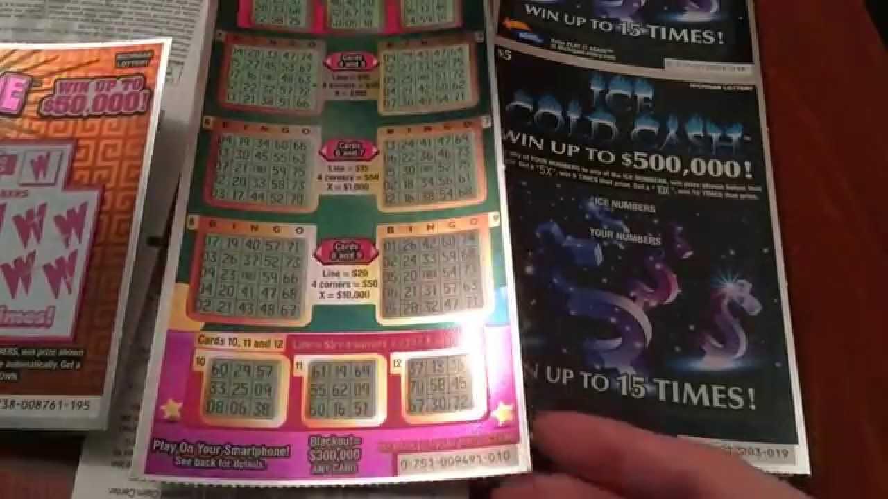 $5 Super Bingo Scratch Off - 12/1/15
